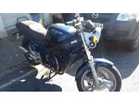 Honda nvt 600 k nice vintage bike back up due to time wasters
