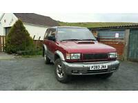 Isuzu trooper 3.1 citation