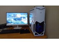 WATERCOOLED GAMING PC i5 2500K, 8GB RAM, GTX 770 OC