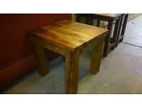 Solid Sheesham style small table