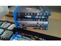Huge bundle Bluray Dvd's plus storage box xmas gift