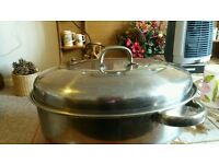 Judge stainless steel casserole dish with lid good condition