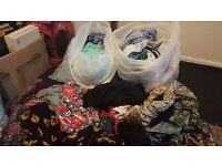 QUICK SELL £15 -xTWO Bin bags of Size 10 Women's Clothes - Bundle/ Assortment
