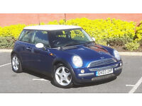 2003 MINI COOPER 1.6, MOT MAY 2017, HALF LEATHER TRIM 3 days free insurance