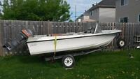16 ft. boat with 25 hp mariner