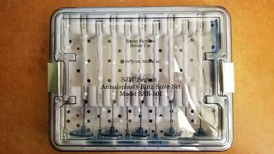New Sjm St. Jude Medical Seguin Annuloplasty Ring Sizer Set Sar-501 11 Pcs Set