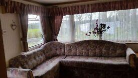 3 bedroom static caravan in excellent condition