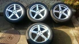 "18"" AVA Miami alloys and tyres"