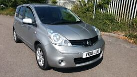 2010 NISSAN note 1.4 ,very reliable and cheap family car