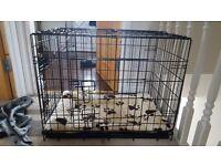 "Medium size dog cage/crate 30"""
