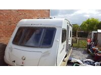 Charisma 550 4 berth with fixed bed