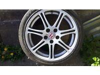"Genuine Honda Civic 17"" Alloy Wheel"