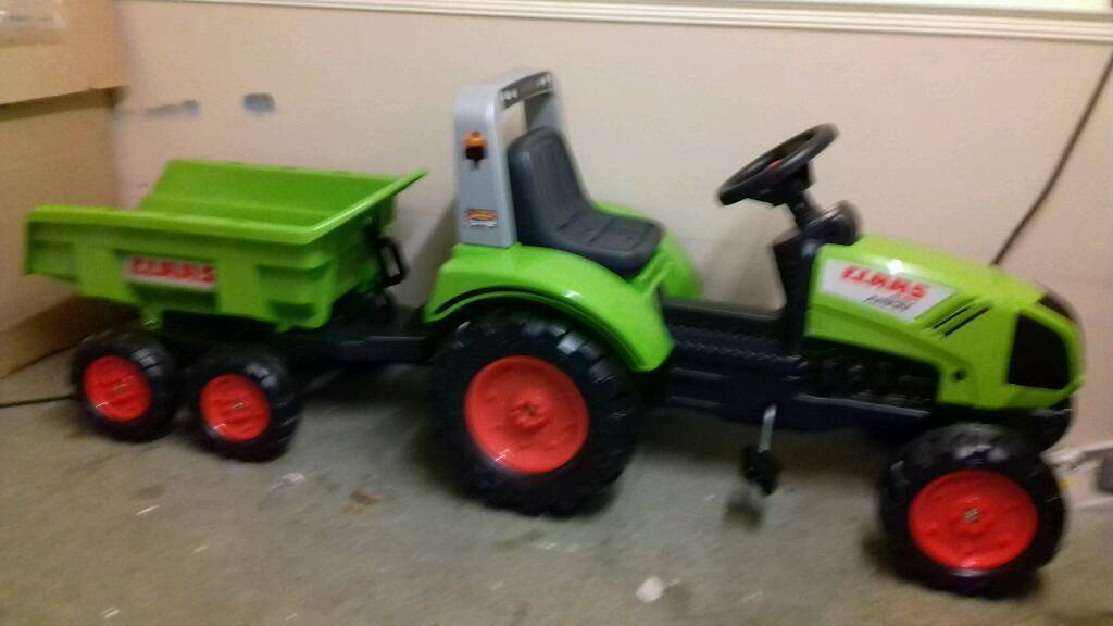 Kids ride on tractor suitable and diggers for sale