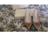 Jenny Packham low heels /2.7in/ brand new RRP £89