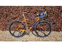 Holdsworth La Quelda Steel Fixie Singlespeed Road Bike - Small Frame