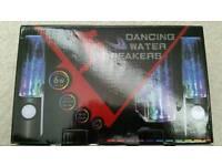 Dancing water speakers