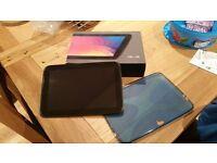 Google Nexus 10, Mint Condition, w\ box and blue plastic cover