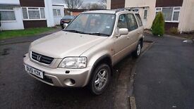 2001 HONDA CR-V 2.0l Petrol Manual