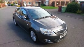 2012 Vauxhall Astra EcoFlex Excite DIESEL £30 YEAR ROAD TAX
