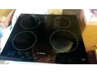 Induction cooker HOB Bosch electric as new