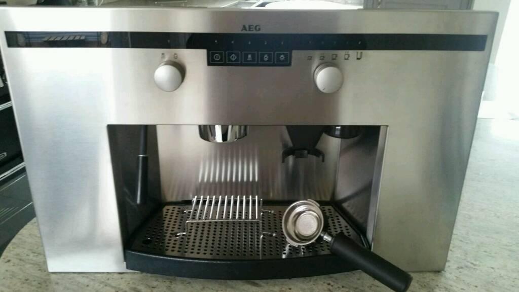 Aeg Integrated Espresso Machine In Fakenham Norfolk Gumtree