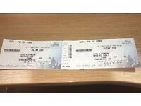 2 X Blink 182 Tickets (Glasgow)