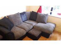 4 seater byron coner sofa