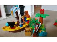 Lego Duplo jake and the Nederland pirates