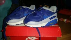 Ralph lauren and nike air max 90s size 5.5