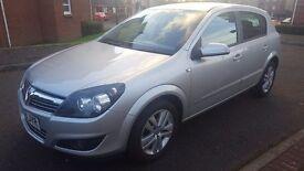 Vauxhall astra sxi 1.6 5 door silver