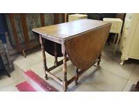 Vintage Gateleg Dining Table