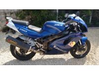 Kawasaki ZXR 750 J2 - Full Akraprovic Exhaust, L Engine fitted 10 months MOT needs tidying