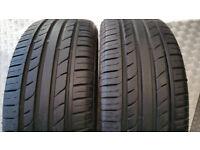205 45 17 88W 2 x tyres Westlake Sport SH-37 M+S
