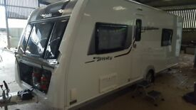 Elddis 2015 Affinty540 fixed bed,sensible offers considered