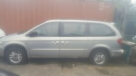 Grand voyager spares and repairs
