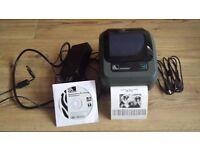 Zebra GK420d Thermal label printer.