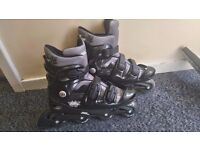 No Fear Roller Skates (Adult size 9-12)