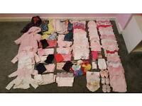 Hugh Bundle of 0-3months Girls Clothes