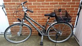Women bike from Raleigh