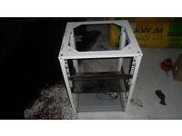 ES Rack Cabinet - Enclosure Systems (rackmount frame office server mount studio compressor eq)
