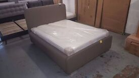 John Lewis Owen Double Bed Frame & ORTHO MATTRESS CAN DELIVER Collect Kirkby in Ashfield NG17