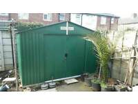 Metal Steel shed