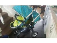 Icandy peach blossom sweet pea double twin tandem pushchair