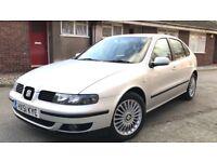 2001 51 Seat Leon 1.8T Cupra 60K Very Low Mileage Full Service History Mint Example 180 Bhp 6 Speed