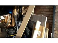 FREE ODDMENTS OF MDF, COVING, SKIRTING, PLASTERBOARD