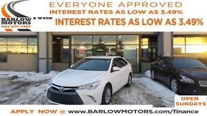2016 Toyota Camry LE*EVERYONE APPROVED*APPLY NOW DRIVE NOW!