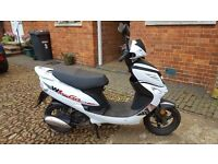 For sale WK 50 GO Moped .. only 140 Miles