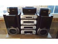 Technics Hifi with 5 speakers