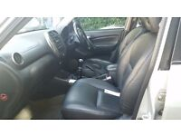 Toyota Rav4 VVT-I engine with full leather interior