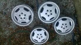 """Mercedes Lorinser 16"""" Alloy Wheels"""